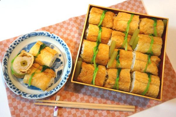 ふきのいなり寿司