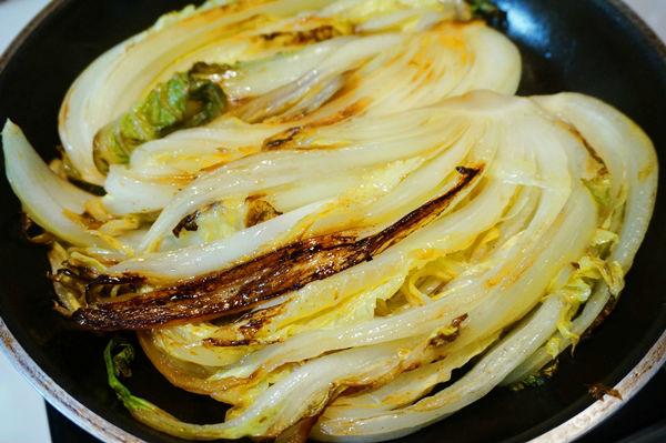 焼いた白菜