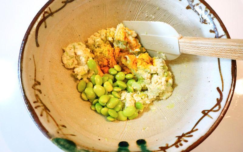 豆腐と枝豆