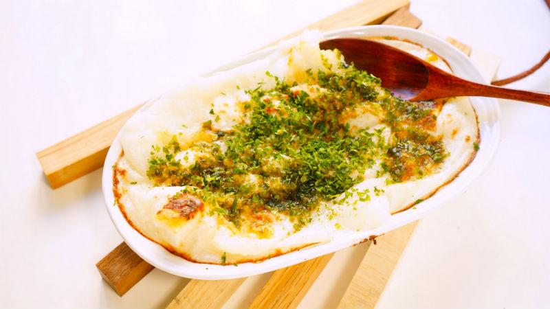 長芋と餅のグラタン風